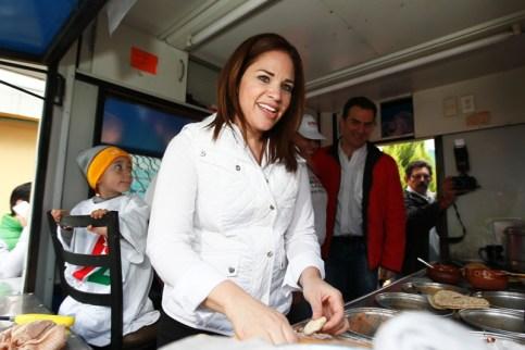 Ivonne Álvarez prometió reordenar el transporte público