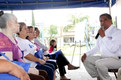 El programa 'Vecino Supervisor' fue presentado en San Nicolás.