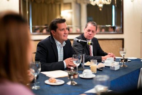 Se reunió con hoteleros que promueven la Marca Monterrey Histórico.