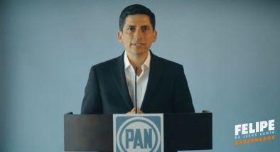 A través de un video, Felipe de Jesús Cantú pide a los ciudadanos que le digan a Ivonne que acuda al debate
