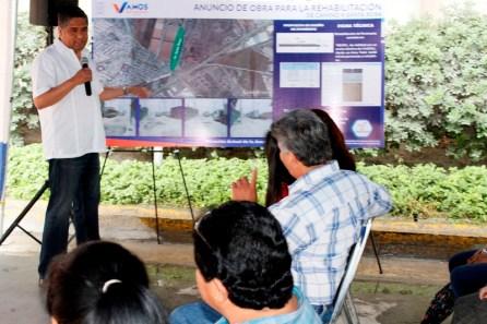 Invertirán 4.2 millones de pesos en la obra