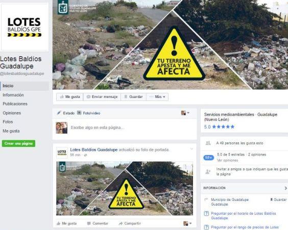 La página de Facebook ya está funcionando