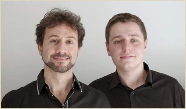 Iván Rutkauskas y Marcelo Ayub
