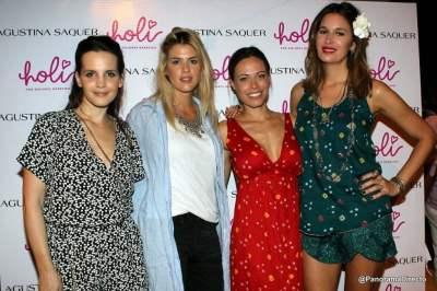 Sabrina Garciarena, Maria del Cerro, Carolina Alurralde y Dolores Barreiro