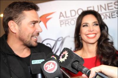 Sabrina Ravelli y Matías Alé