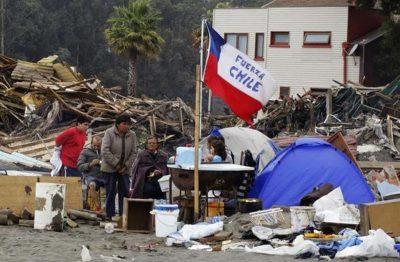 El terremoto en Chile dejó más de un millón de evacuados y 10 muertos