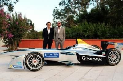 Leonardo DiCaprio y Alejandro Agag