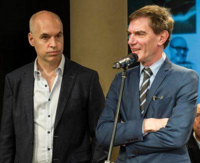 Horacio Rodríguez Larreta y Darío Lopérfido