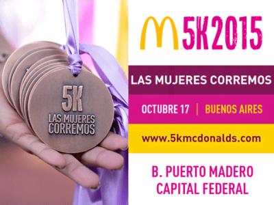 """McDonald´s M5K """"Las mujeres corremos"""""""