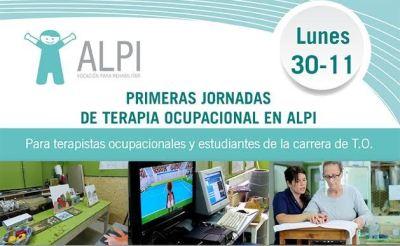 Primera Jornada de terapia ocupacional en ALPI