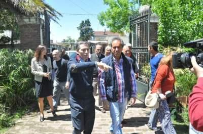 Scioli violó la veda electoral