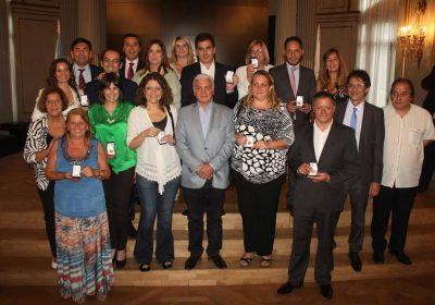 Entrega de medallas a los diputados salientes de la legislatura Porteña
