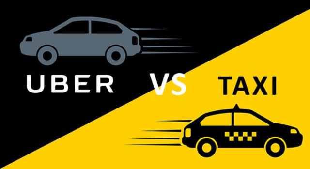 #TaxisVsUber