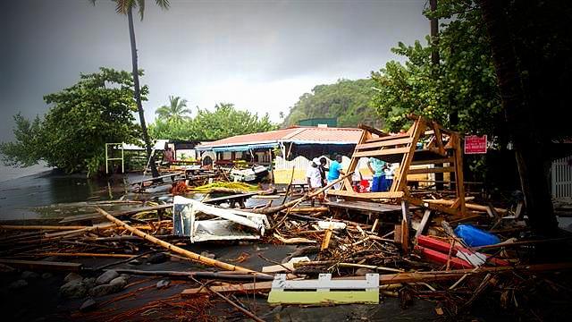 Huracán María en la región del Caribe