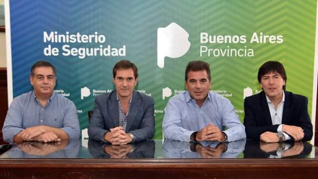 Ritondo se reunió con autoridades de la Superliga para hablar sobre la seguridad en el fútbol
