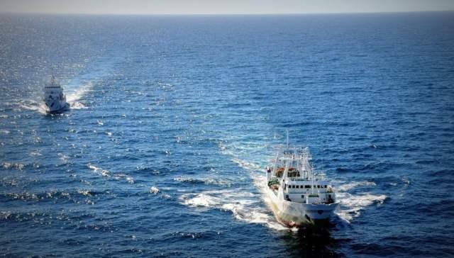 Prefectura Naval interceptó barco español que pescaba ilegalmente en el Mar Argentino