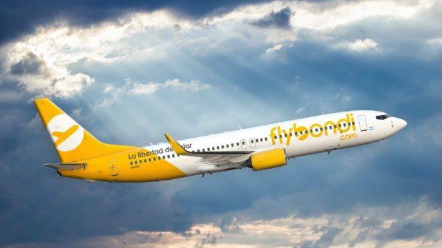 Flybondi.com inauguró sus vuelos a Posadas