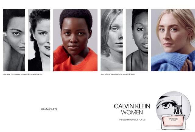 CALVIN KLEIN Fragrances anuncia a Lupita Nyong´o y Saoirse Ronan como los nuevos rostros de CALVIN KLEIN WOMEN