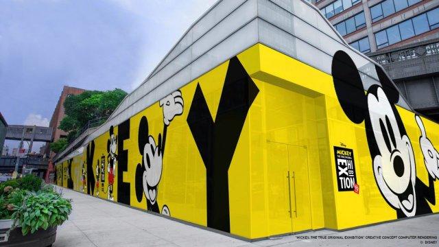"""Se anunció la muestra """"Mickey: The True Original Exhibition"""""""