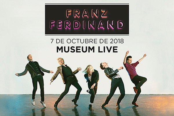 """Franz Ferdinand vuelve a Buenos Aires para presentar su nuevo álbum """"Always Ascending"""""""