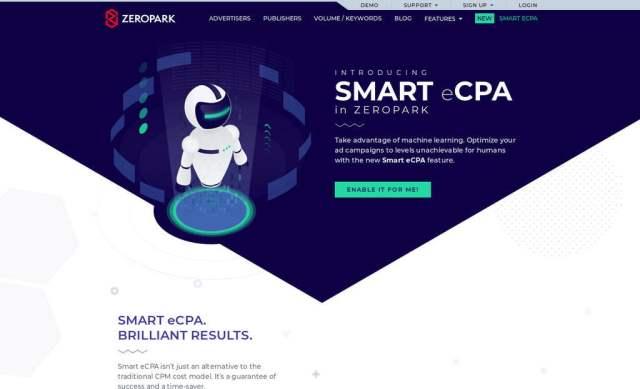 Zeropark presenta un sistema de optimización de campañas publicitarias con tecnología de inteligencia artificial