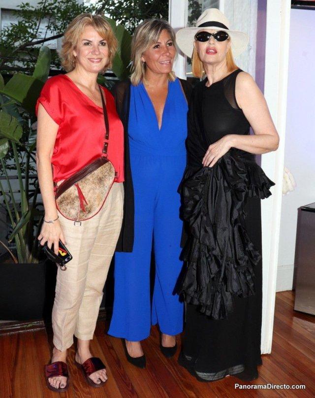 Florencia Florio, María Grebol y Carmen Yazalde