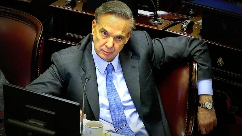 Pichetto fue designado auditor general con la abstención del Frente de Todos