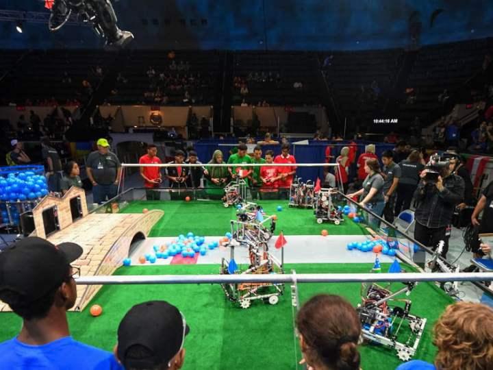 Llegó la #CopaRobótica2019 jóvenes de todas las provincias compiten con sus robots