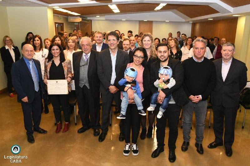 La Fundación Hospitalaria fue distinguida por la separación de bebés siameses en la Legislatura Ciudad Autónoma de Buenos Aires