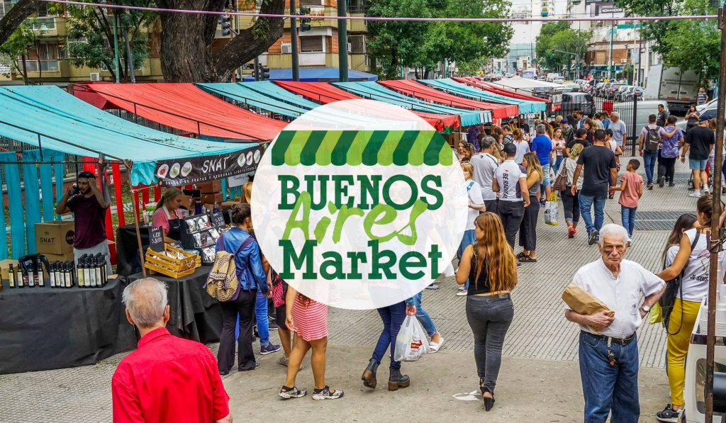 Este fin de semana el mercado de alimentos Buenos Aires Market estará en los Bosques de Palermo