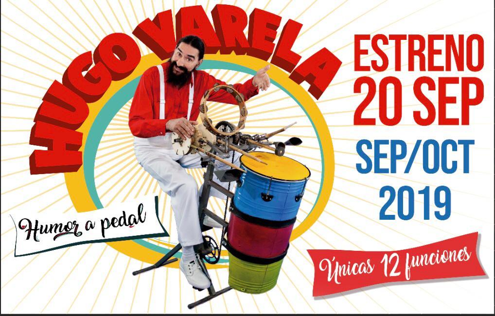 """Hugo Varela presenta """"Humor a Pedal"""" en el Astral"""