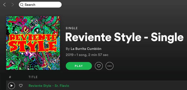 La Burrita Cumbión lanza hoy su primer single «Reviente Style» en plataformas digitales