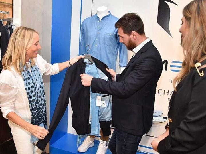 Lionel Messi irrumpe en el mundo de la moda