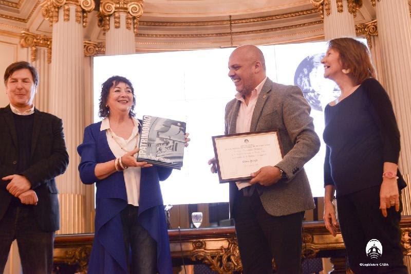 Declaran a Diana Saiegh personalidad destacada en la Legislatura de la Ciudad Autónoma de Buenos Aires