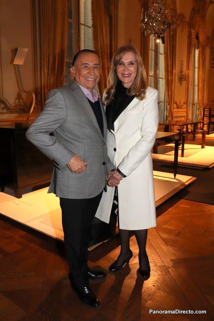 Carlos Cecchi y su esposa en el #MNAD