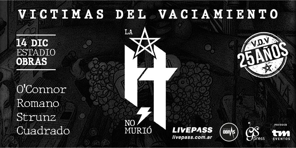 """""""La H no murió"""" en Estadio Obras"""