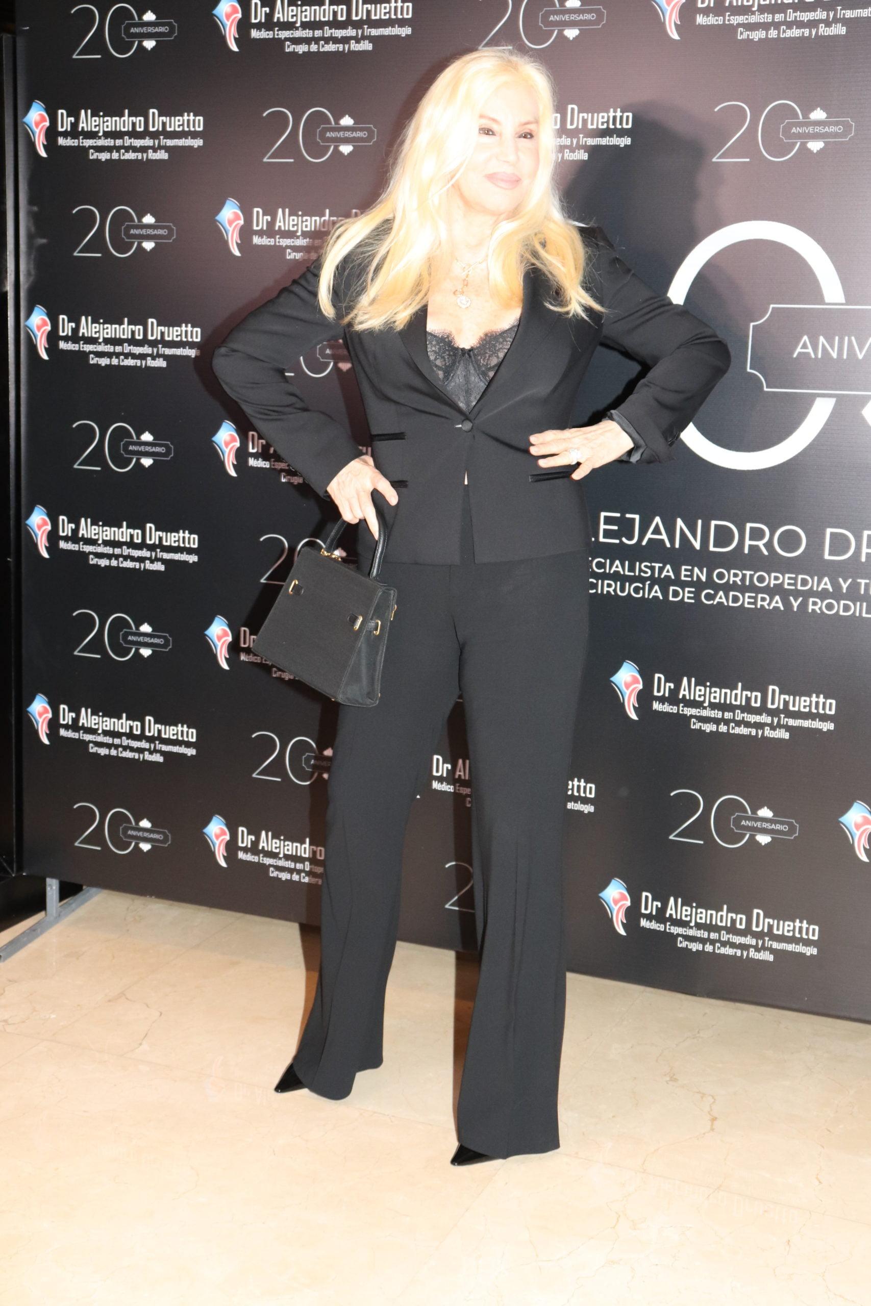 Susana Giménez en el Hotel Emperador