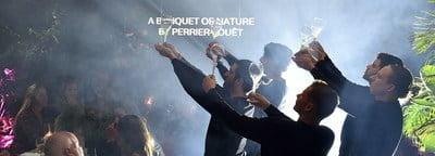 """""""A Banquet of Nature, de Perrier-Jouët"""" mostrado en Miami: Reconectarse con la naturaleza y con los demás"""