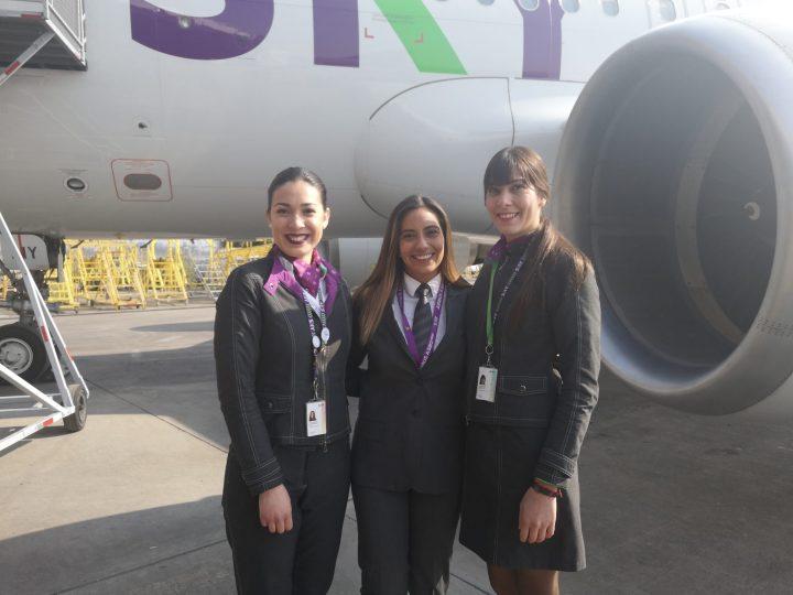 SKY incrementará en un 5% por año el porcentaje de mujeres entre sus nuevos pilotos