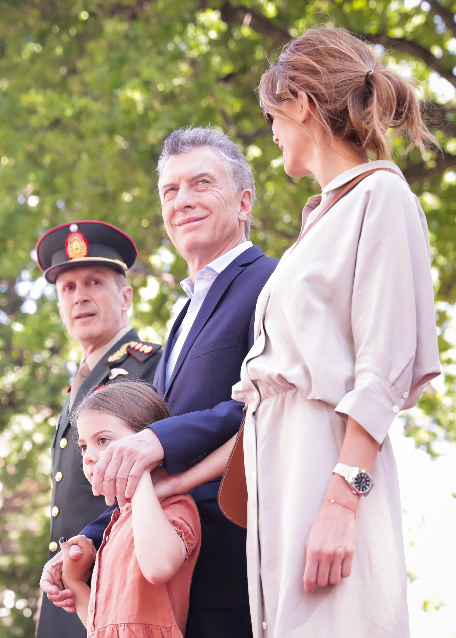 Macri saludó a los Granaderos