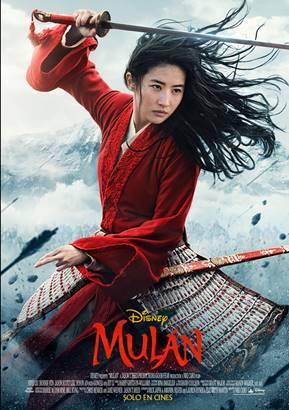MULÁN , la película de Disney que estrenará en Marzo