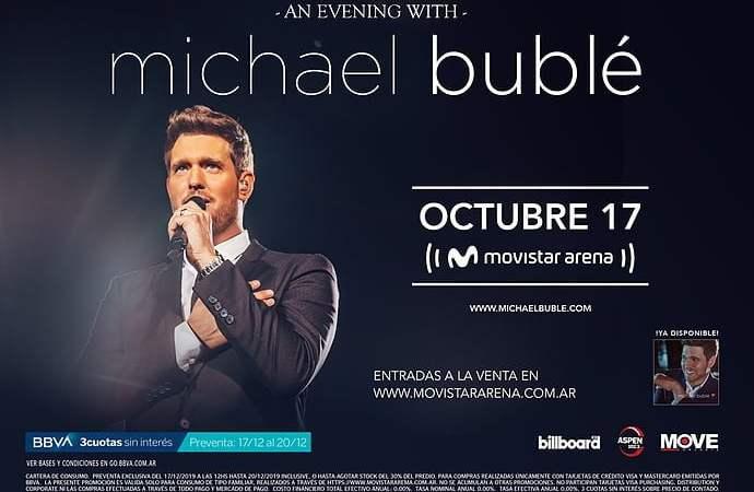 Michael Bublé en Argentina