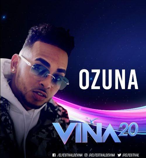 OZUNA en el LXI Festival Internacional de la Canción de Viña del Mar en Chile