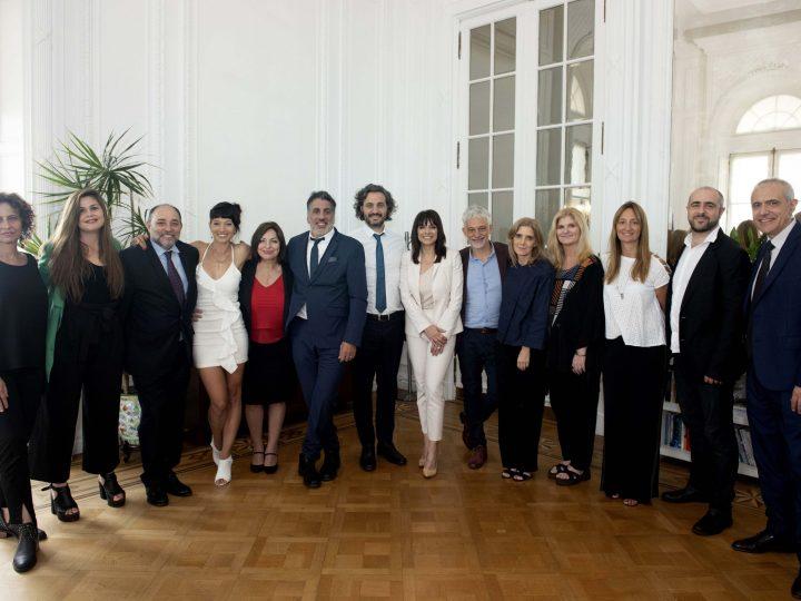 El equipo de la Secretaría de Medios y Comunicación Pública se reunió con Santiago Cafiero