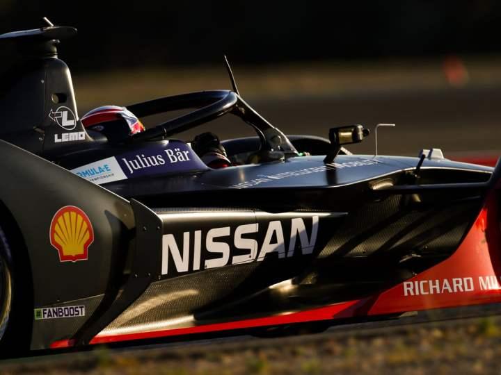 Nissan e.dams busca repetir la velocidad chilena en la Fórmula E