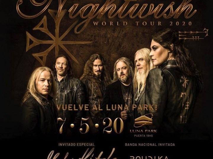 Nightwish vuelve a la Argentina