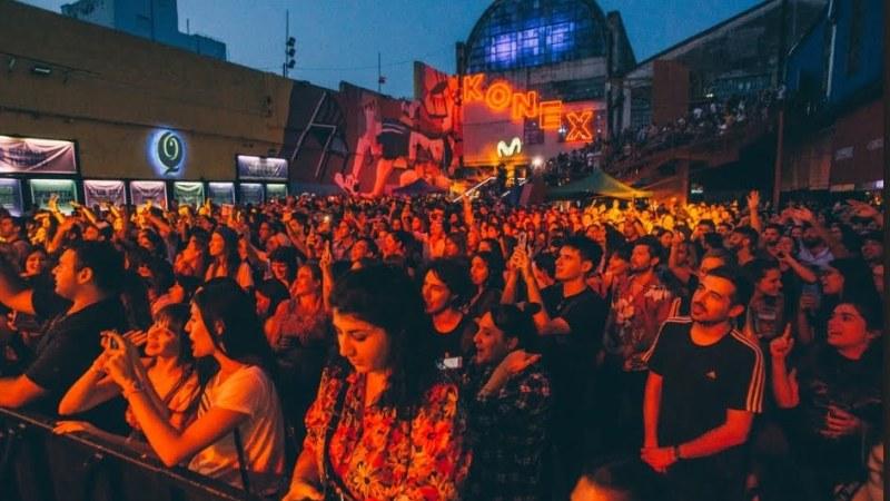 Mala Fama y Juan Ingaramo inauguraron el Parador Konex con entradas agotadas