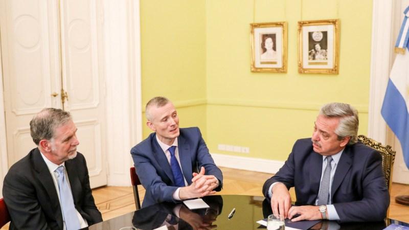 Alberto Fernández se reunió con el director ejecutivo de