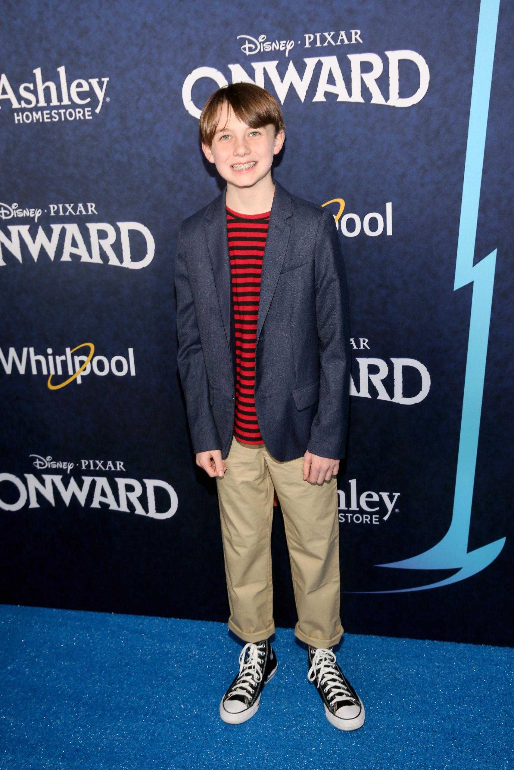 Brady Jenness en El Capitan Theatre en Hollywood
