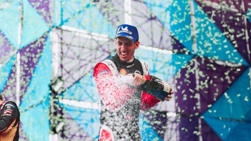 Sebastien Buemi, piloto de Nissan e.dams, obtiene brillante podio en la carrera de Fórmula E en Ciudad de México